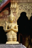Golden Buddhist Statue