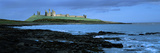 Dunstanburgh Castle at the Coast  Northumberland  England