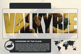 Valkyrie World Mythology Poster