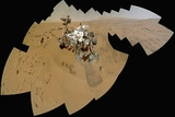 Curiosity Rover Self-Portrait  Gale Crater  Mars