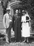 Graduation Snapshot at University of Illinois  Ca 1935
