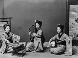 Women Playing Traditional Japanese Instruments