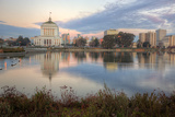 Downtown Oakland at Lake Merritt
