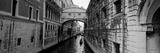 Bridge on a Canal  Bridge of Sighs  Grand Canal  Venice  Italy