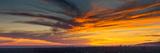 Clouds in the Sky at Dusk  Marina Del Rey  Santa Monica  Los Angeles  California  USA