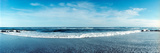 View of the Atlantic Ocean at Fort Tilden Beach  Queens  New York City  New York State  USA