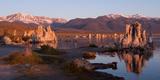 Tufa Formations at Mono Lake  Mono County  California  USA