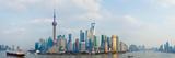 Buildings at the Waterfront  Pudong  Huangpu River  Shanghai  China