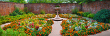 Latham Memorial Garden at Tryon Palace  New Bern  North Carolina  USA