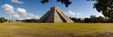 Ruins of a Pyramid  Kukulkan Pyramid  Chichen Itza  Yucatan  Mexico