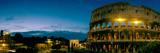 Amphitheater at Dusk  Coliseum  Rome  Lazio  Italy
