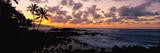 Sunset North Shore  Oahu  Hawaii