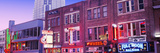 Neon Signs on Buildings  Nashville  Tennessee  USA