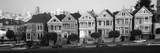 Row Houses in a City  Postcard Row  the Seven Sisters  Painted Ladies  Alamo Square