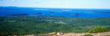 High Angle View of a Bay  Frenchman Bay  Bar Harbor  Hancock County  Maine  USA