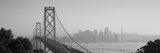 Bay Bridge  Skyline  City  San Francisco  California  USA