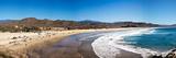 Tourists at Cerritos Beach  Todos Santos  Baja California Sur  Mexico
