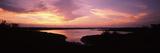 Lake Travis at Dusk  Austin  Texas  USA