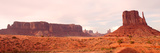 Buttes Rock Formations at Monument Valley  Utah-Arizona Border  USA
