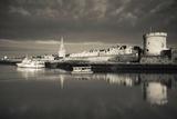Tour De La Lanterne and Tour De La Chaine Towers  La Rochelle  Charente-Maritime