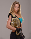UFC Fighter Portraits: Ronda Rousey