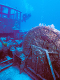 Doc Polson Wreck in the Sea  Grand Cayman  Cayman Islands