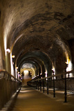 Pommery Champagne Winery Passageway to Ancient Gallo-Roman Quarries  Reims  Marne