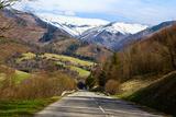 Mountain Road in a Valley  Tatra Mountains  Slovakia