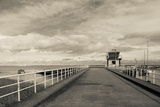 Town Pier on the Gironde River  Pauillac  Haut Medoc  Gironde  Aquitaine  France