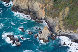 Aerial View of a Coast  Big Sur  Monterey County  California  USA