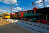 Chattanooga Choo Choo at the Creative Discovery Museum  Chattanooga  Tennessee  USA