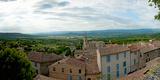 Clouds over a Town  Place Du Terrail  Bonnieux  Vaucluse  Provence-Alpes-Cote D'Azur  France