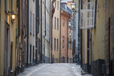 Buildings in Old Town  Gamla Stan  Stockholm  Sweden