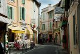 Buildings Along a Street  Rue Porte De Laure  Arles  Bouches-Du-Rhone