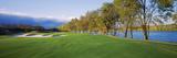 Sand Traps in a Golf Course  River Creek Golf Club  Leesburg  Loudoun County  Virginia  USA