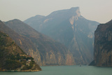 Mountains at the Riverside  Yangtze River  Chongqing Province  China