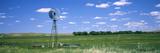 Windmill in a Field  Nebraska  USA