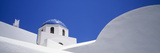 Low Angle View of a House  Oia  Santorini  Cyclades Islands  Greece