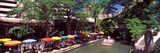 Sidewalk Cafe at the Riverside  San Antonio River Walk  River San Antonio  San Antonio  Texas  USA