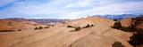Biker on Slickrock Trail  Moab  Grand County  Utah  USA