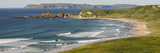 Surf on the Beach  Whitepark Bay  County Antrim  Northern Ireland