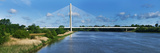 Cable Stayed Bridge across a River  River Suir  Waterford  County Waterford  Republic of Ireland