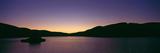 Megget Reservoir at Dusk  Scottish Borders  Scotland