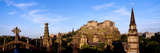 Castle Viewed from St John's Church  Edinburgh Castle  Edinburgh  Scotland