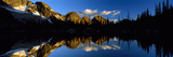 Wica Lake and Valhalla Range British Columbia Canada