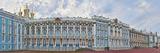 Catherine Palace Courtyard  Tsarskoye Selo  St Petersburg  Russia