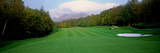 Sand Trap in a Golf Course  Grandfather Golf and Country Club  Linville  Avery County