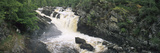Waterfall in a Forest  Rogie Falls  Black Water River  Inverness  Ross and Cromarty