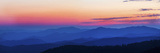Sunset at Clingmans Dome  Great Smoky Mountains National Park  Tennessee  USA
