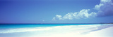 Pink Sand Beach Harbour Island Bahamas Papier Photo